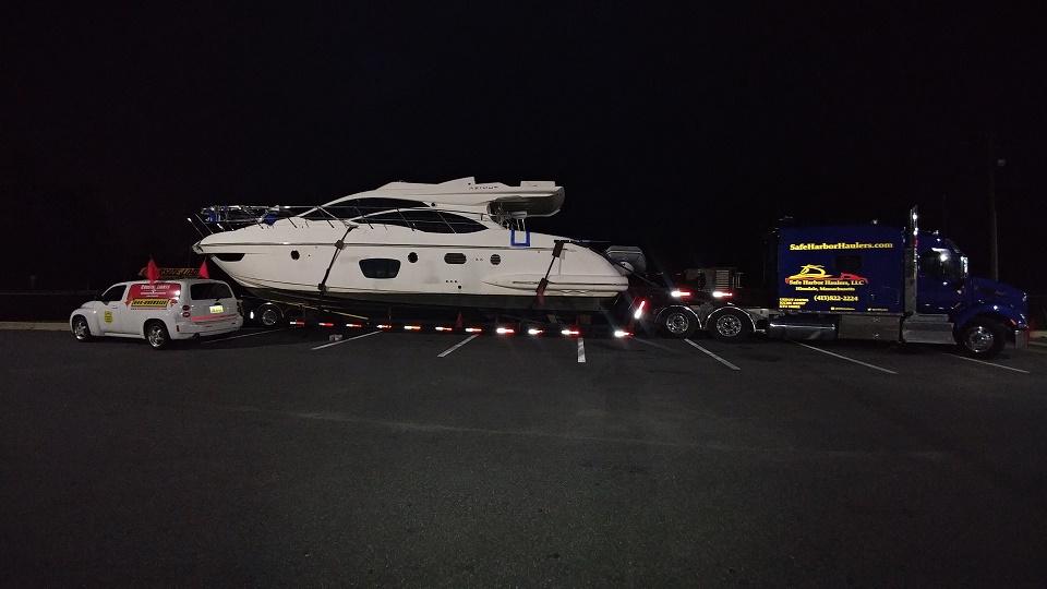 Azimut Yacht Transport