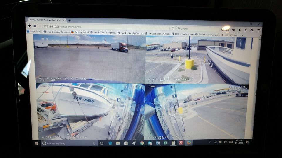 HD Video Cameras Boat Transport
