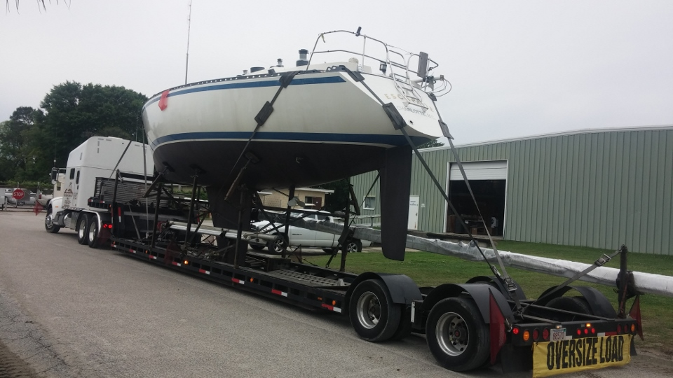 Boat Hauling, Sailboat Transport Quote