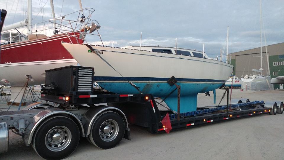 S2 Sailboat Transport