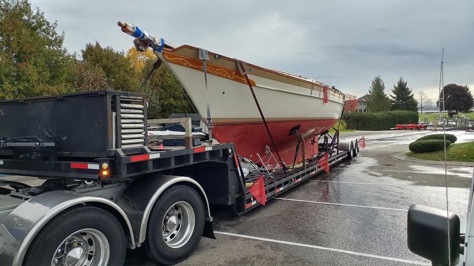 Sailboat Shipping