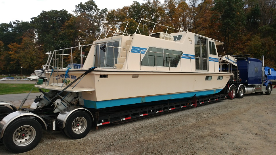 Truck a Boat