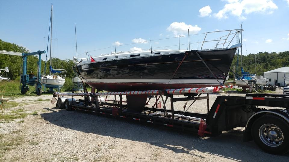 Beneteau Sailboat Transport