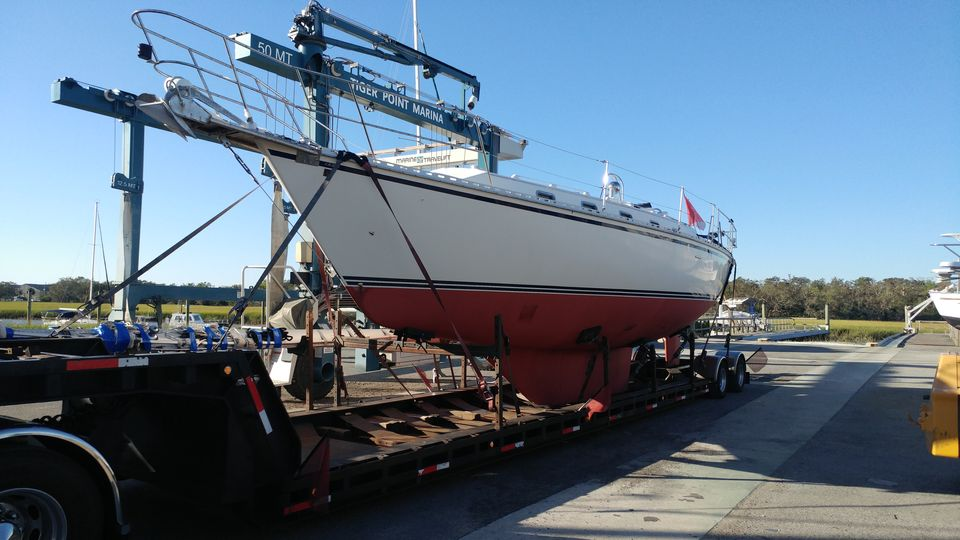 Marine transport, yacht delivery, sailboat movers, boat transport pros