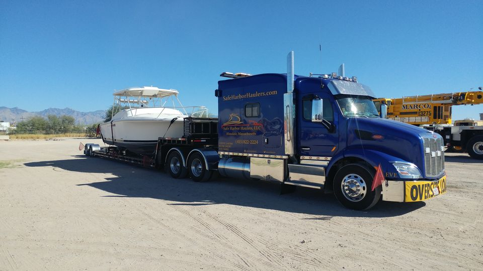 boat and yacht transport, Safe Harbor Hauling, marine transport