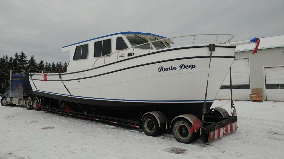 boat transport, boat shipping, yacht transport, trawler transport