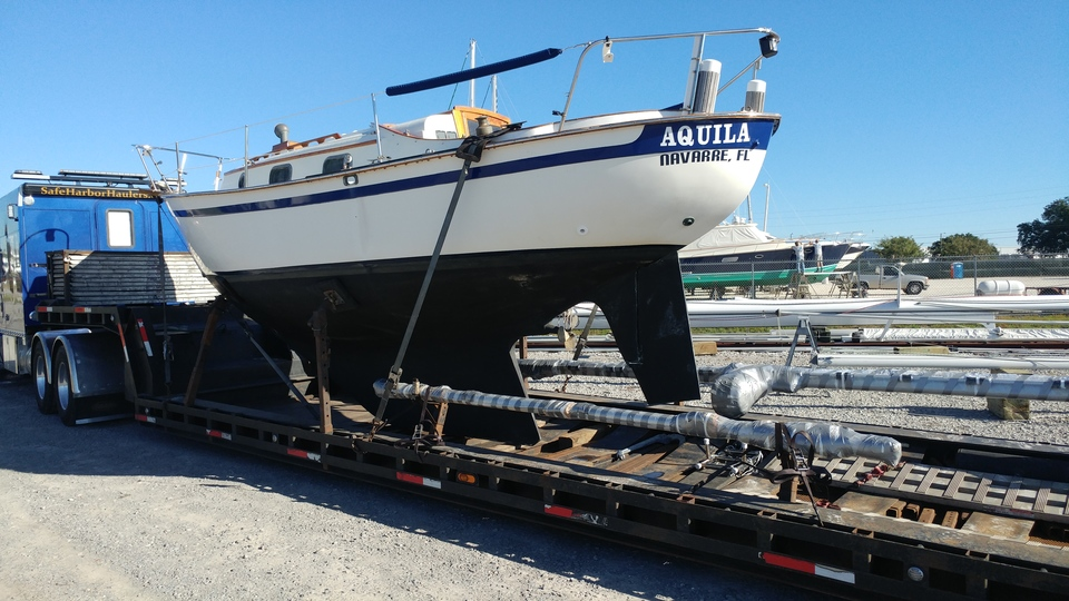 sailboat transport, sailboat delivery, sailboat transport
