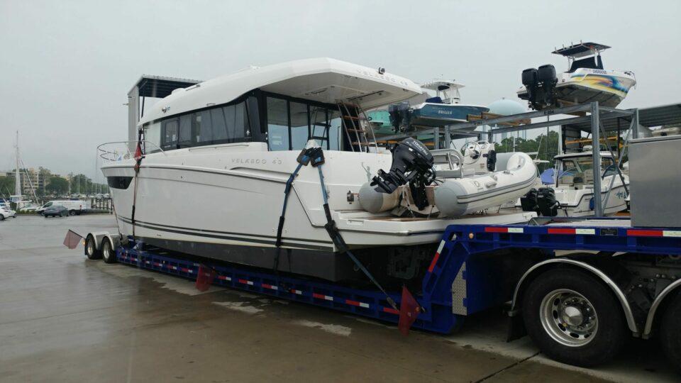 powerboat transport, powerboat shipping, boat transport, marine transport