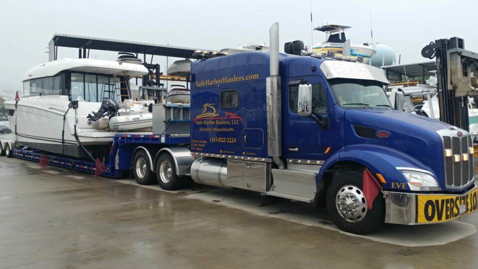motor yacht transport, motor yacht shipping, boat transport service, boat transport company