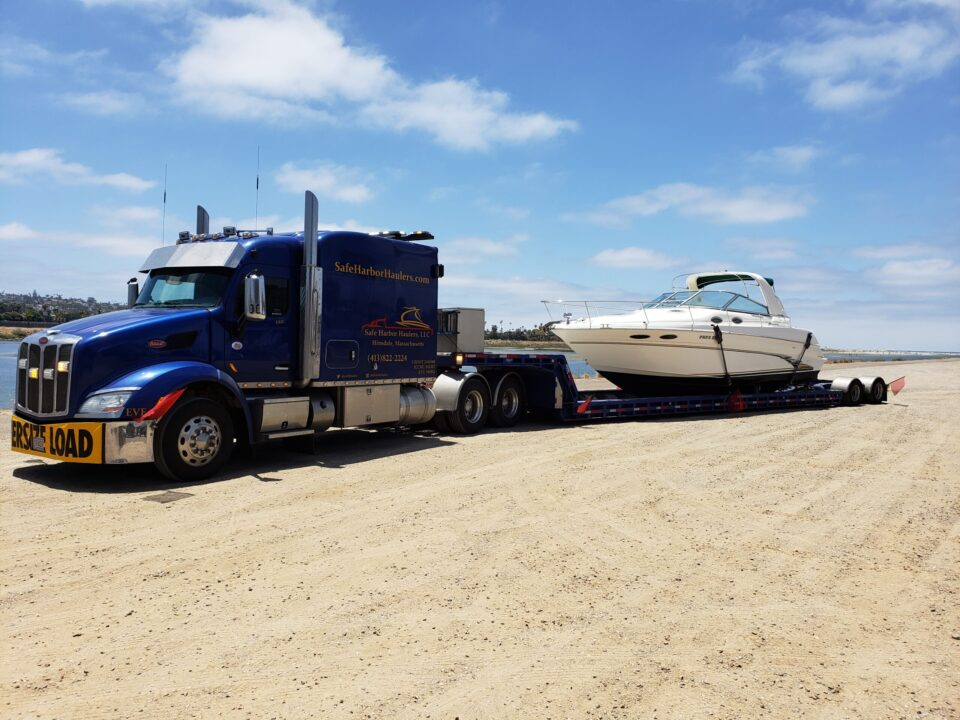boat transport cost, boat transport companies, boat hauling service