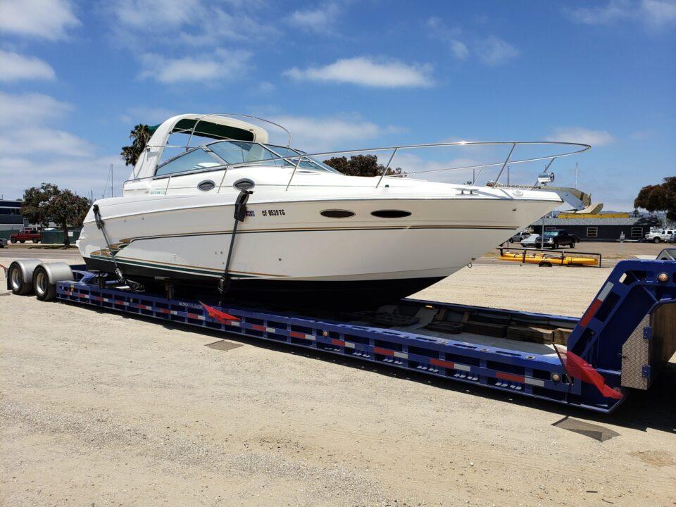 boat transport, boat haulers, Sea Ray 290, boat hauling service