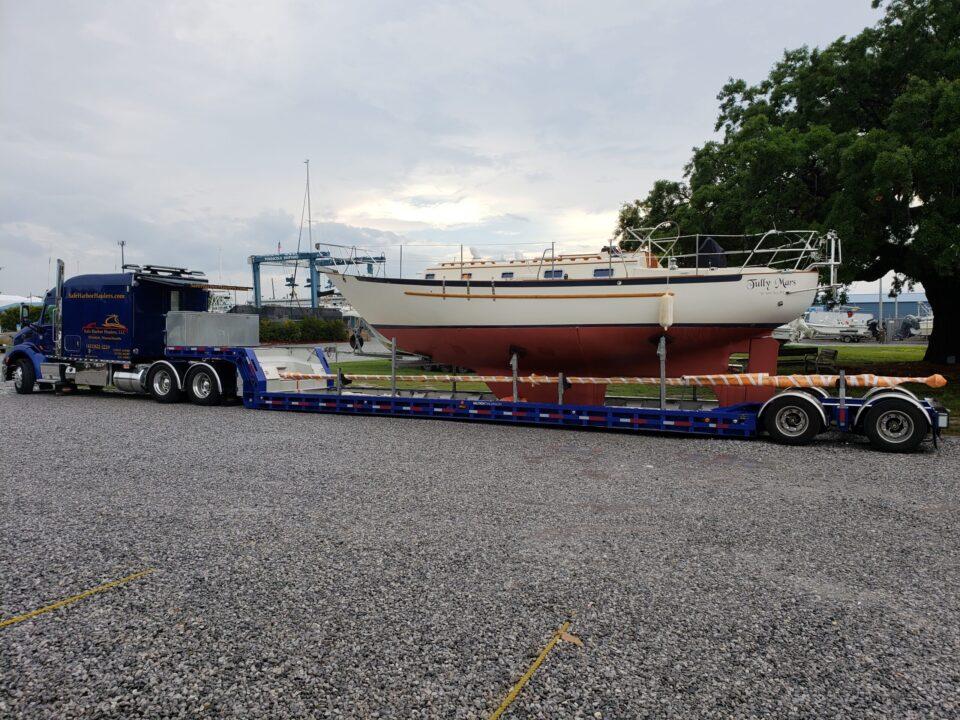 boat transport, boat haulers, boat movers, boat hauling service