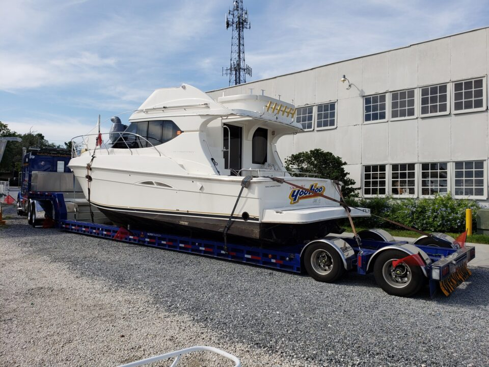 Marine transport, boat movers, boat haulers, boat transport