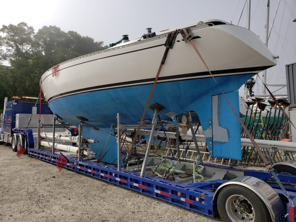 Swan 431, boat transport, boat transport services, boat transport comapnies, boat shipping